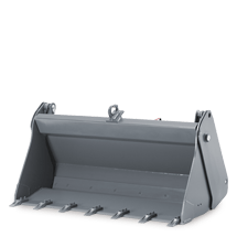 Attachment tools for Telehandlers - Multi-purpose bucket with teeth