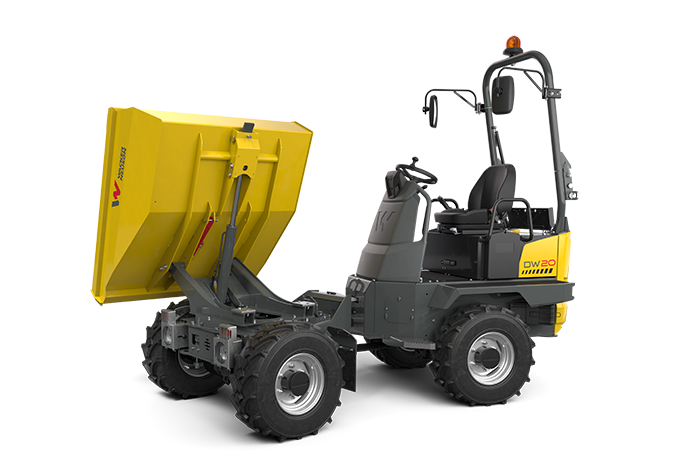Wheel Dumper DW20 w/ swivel tip skip