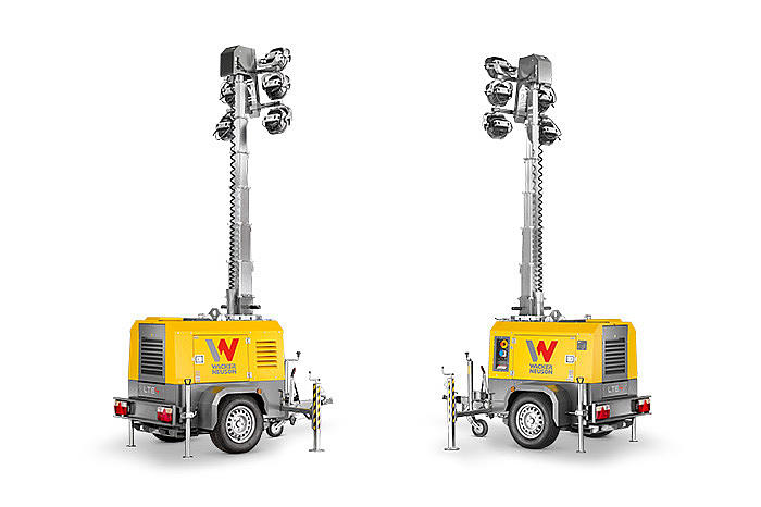 LTE light tower LED