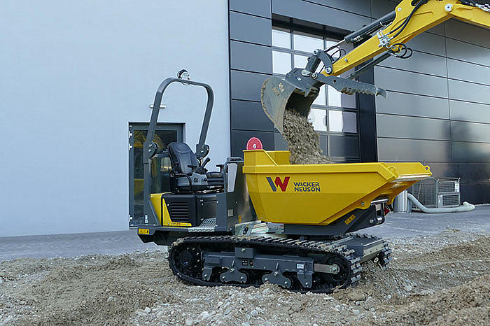 DT23 the perfect allround equipment for every construction site