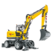 Wheeled Excavators - EW100