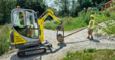 Wacker Neuson ET16 in application