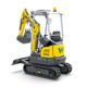 Tracked Zero Tail Excavators - EZ17e