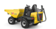Wheel Dumper DW20 foldable ROPS