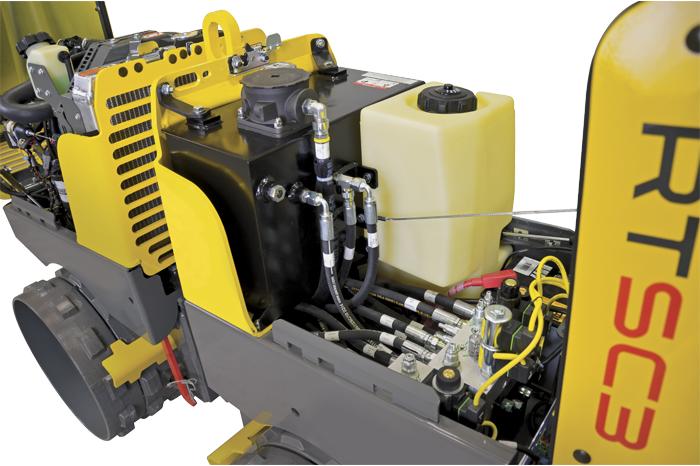 Trench Roller RTSC3 - hydraulics