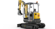 EZ26 zero tail excavator with canopy