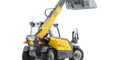 Wacker Neuson telehandler TH412 studio view 3