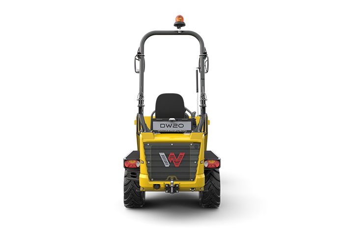 Wheel Dumper DW20 rear view